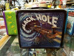 The Black Hole Metal Lunch Box W/ Thermos Vintage 1979