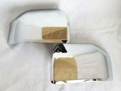 Replacement Clip-on Chrome Mirror Covers Set Of 2 For 2015 - 2020 Ford F-150