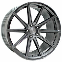 20 Stance Sf09 Grey 20x9 Concave Forged Wheels Rims Fits Audi B8 A4 S4 Quattro