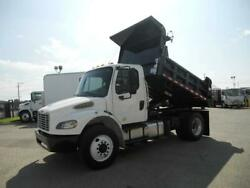 2014 Freightliner 10ft dump truck (new Box) Tarp Hitch 26000# GVWr under CDL -