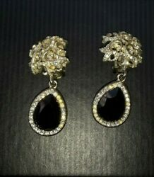 Vintage evening earrings clips are unusually stylish for any holiday $9.99