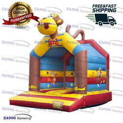 16x13ft Commercial Inflatable Monkey Bounce House Trampoline With Air Blower