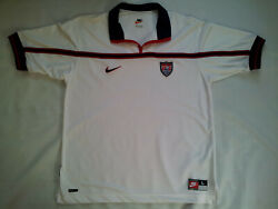Vintage Nike Dri Fit Us National Team Soccer Game Jersey In Size L