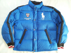 Rare Polo By 111 Winter Event Usa Olimpic Team Puffer Jacket Size L