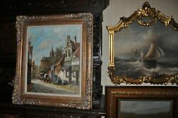Monumental Antiquepainting By Well Listed Hendrik Ten Hoven 1901 - 1978