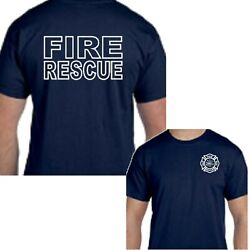 Fire Rescue EMT EMS Medical Paramedic Emergency Services Tee T-Shirt New