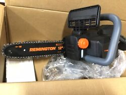 Remington 40v Chainsaw Charger And Battery New Open Box