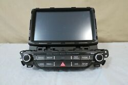✅ 17 18 19 2017-2019 Kia Niro Sxm Sat Radio Bluetooth Cd Player Navi Screen Oem