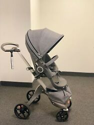 stokke xplory + Carry Cot + Car Seat + All Accessories