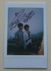 B1a4 Mbc Program One Fine Day Event Official Signed Unit Polaroid Baro Gongchan