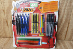 Bic 44 Count Backpack Supplies Pen amp; Pencil Set New in Package $17.10