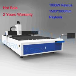 1000W Raycus Fiber Laser Cutting Machine Cutter Raytools 1500x3000mm for Metal