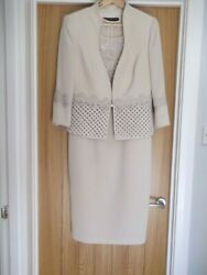 Mother Of The Bride Veni Infantino Outfit -size 10- Includes Hat Shoes And Bag