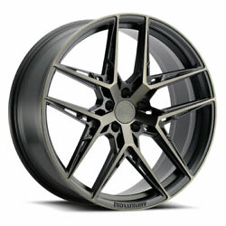 19 Xo Cairo Grey 19x8.5 Forged Concave Wheels Rims Fits Acura Tl