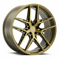 19 Xo Cairo Bronze 19x9.5 19x11 Forged Wheels Rims Fits Mustang Shelby Gt350