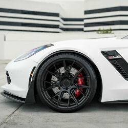 19 Blaque Diamond Bd-f18 Black Rims Concave Forged Wheels Fits Ford Mustang Gt