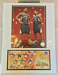 2007 Lebron James And Dwayne Wade All-star Photo And Usps Feb 18 2007 Artwork Cover