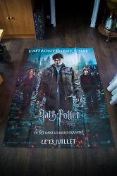 Harry Potter Deathly Hallow 2 A 4x6 Ft French Grande Poster Original 2011