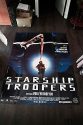 Starship Troopers Verhoeven 4x6 Ft French Grande Movie Poster Original 1998