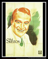 Mgm Red Skelton 4x6 Ft French Grande Movie Poster Original 1930and039s