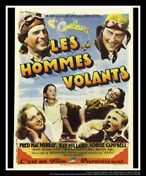 Men With Wings 24 X 32 French Moyenne Fold Movie Poster Original 1938