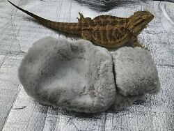 MINKY PONY FAUX FUR LRG SOFT BED SET COVERS ONLY NO FRAME BED 4 BEARDED DRAGONS