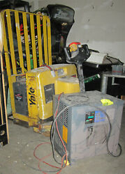 Yale Electric Pallet Jack - Charger Included Free Shipping