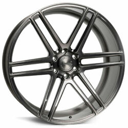 22 Velgen Vft6 Grey 22x10 Forged Concave Wheels Rims Fits Ford F-150