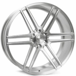 24 Velgen Vft6 Silver 24x10 Forged Concave Wheels Rims Fits Ford Expedition