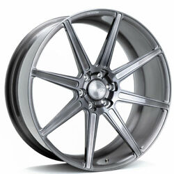20 Velgen Vft8 Black 20x10 Forged Concave Wheels Rims Fits Ford Expedition