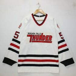 Niagara Falls Thunder Keith Primeau Ccm Chl Game Worn Authentic Jersey Size 54