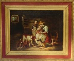 Excellent European Master Early Oil Painting