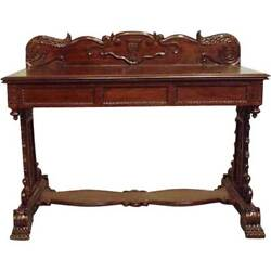 Antique Anglo Indian William Iv Rosewood Console Table 19th Century