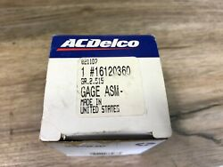 1989-1994 Gmc Chevy S-10 Jimmy Nos Gm Delco Battery/charging Gauge 16120360