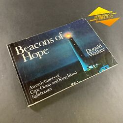 1981 And039beacons Of Hope Cape Otway King Island Lighthouses Signed By Author