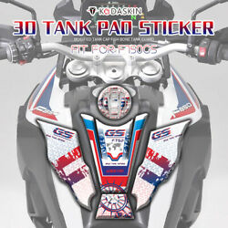 3d Gas Fuel Tank Pad Protector 750gs Emblem Stickers Decals For Bmw F750gs