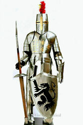 Antique Medieval Knight Suit Full Body Armor Stainles Steel Templar Body Armor