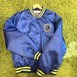 Vintage Golden State Warriors Swingster Jacket Used Nba Authentic Original Xl