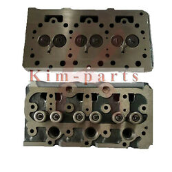 New Complete Cylinder Head For Kubota D750 Engine B5200d B5200e B7100 Tractor