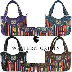 Native Concealed Carry Purse Country Totes Women Handbag Shoulder Bag Wallet $62.95