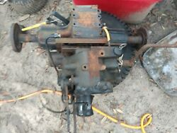 Ford Lgt14d Tractor Transmission Rear End Assy Parts