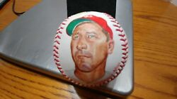 Classic Baseballs By Ron Lewis Original Art Signed By Cal Mclish