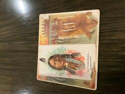 1888 N36 Allen And Ginter The American Indian Sitting Bull Dakota Sioux