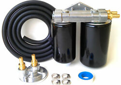 Ram Cummins Diesel 6.7/5.9 Dual Remote Engine Oil Kit With Hose No Filters