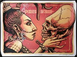 Pixies Band Signed 2013 Tour Poster The Mayan W/jsa Cert