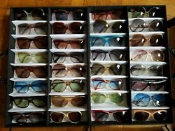 Huge lot of 186 vintage sunglasses - NOS vtg. 70s  80s sun glasses