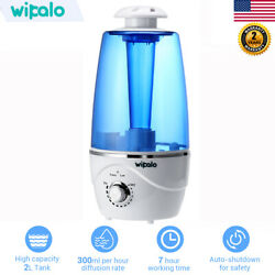 2L Warm Diffuser Essential Ultrasonic Air Humidifier Aromatherapy For Baby Room