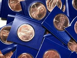2013 P Lincoln Shield Cent Penny Partial Roll 25 Coins Mint Cello