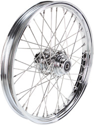 Drag Specialties 21in. X 2.15in. Laced 40 Spoke Front Wheel Assembly 0203-0057