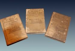 Antique 1918,1919,1920 Model T Ford, And Farm Tractor Reference Manuals 1st Editio